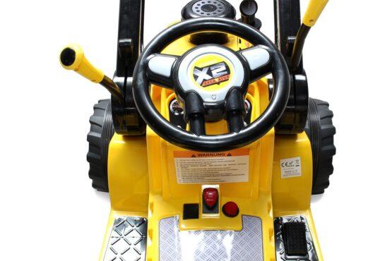 Uus elektriline traktor laaduriga 12V + pult
