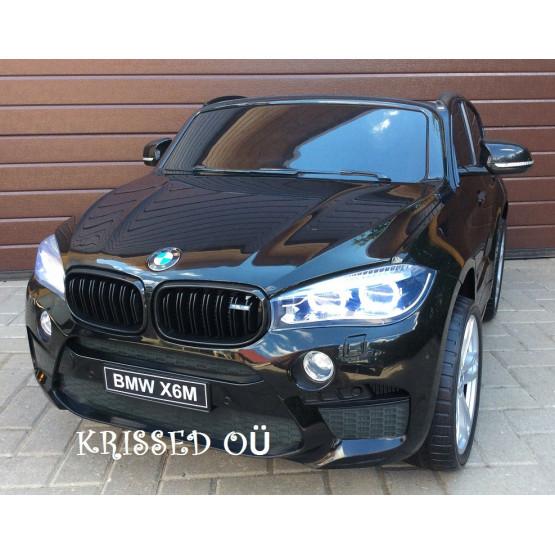 KAHEKOHALINE BMW X6M – MUST VÄRVITUD