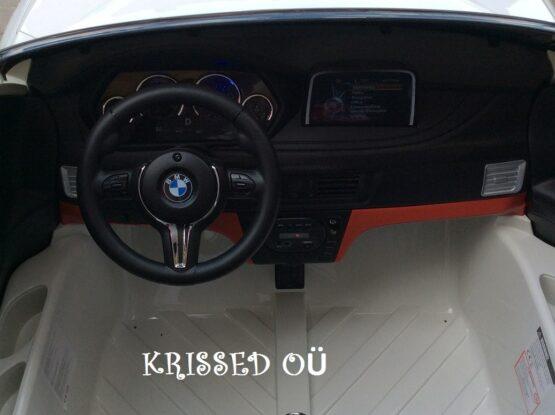 KAHEKOHALINE BMW X6M - VALGE
