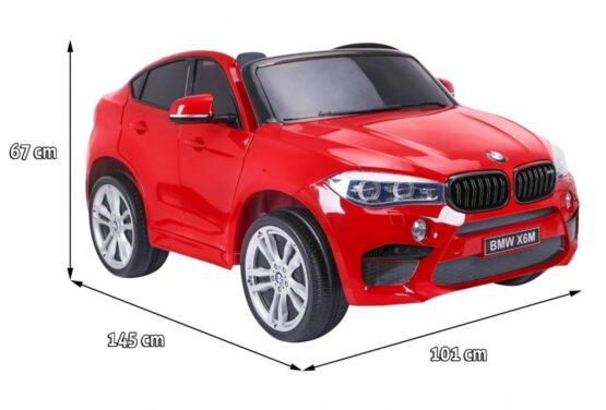 BMW X6M KAHEKOHALINE -PUNANE VÄRVITUD
